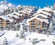 Chalets for sale in the French alps, three valleys, Courchevel, Le Resort