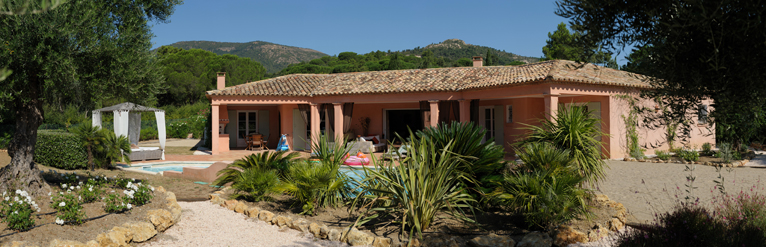 Villa for sale, South of France, French Riveria, PANO JOUR PETIT