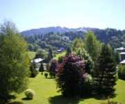 Megeve Blanches view