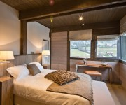 Megeve Chalets for sale Princesse french alps chalet bed